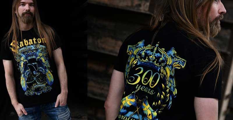 Sabaton Tour Merchandise