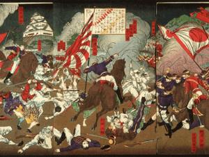 The siege of Kumamoto