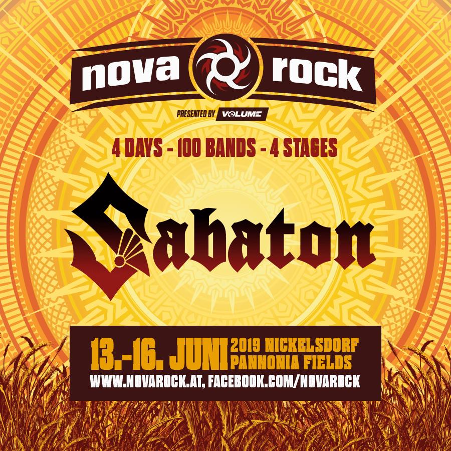 Sabaton returns to Austria's Nova Rock | Sabaton Official