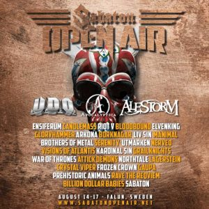 Sabaton Open Air 2019 – Full Line-Up!