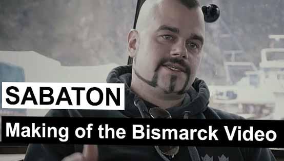 "Making of the ""Bismarck"" Music Video"