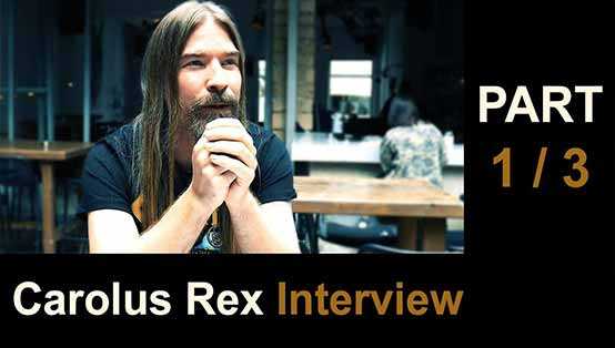 Pär Sundström interview - Carolus Rex - Part 1/3