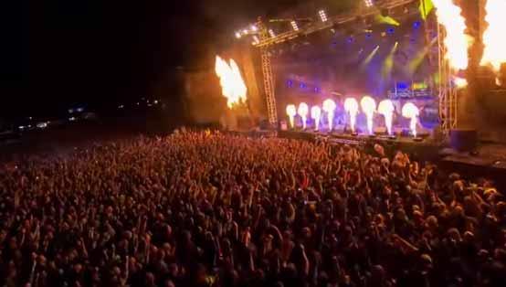 Carolus Rex - Live at Sabaton Open Air 2015