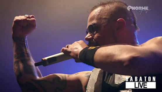 SABATON - Midway (Live from Stereolux in Nantes, France, 2016)