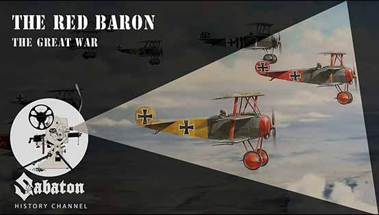 Sabaton History Episode 15 - The Red Baron - The Great War