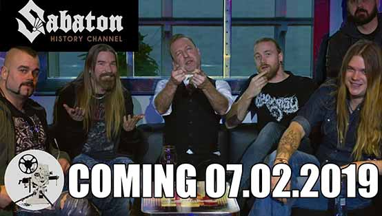 Sabaton History Channel launches 7 February 2019!