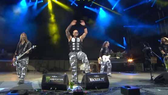 SABATON - Swedish Pagans - Heroes On Tour Live