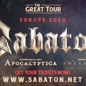 Sabaton Tour 2020 Usa Sabaton | Official Website