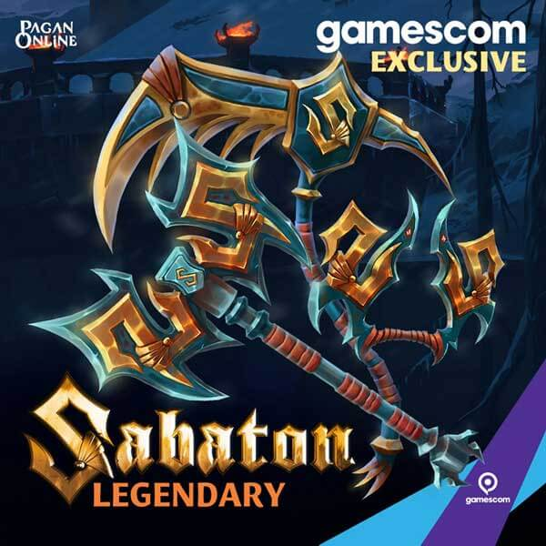 Sabaton to play Pagan Online at the Wargaming booth
