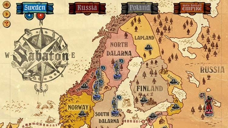 Sabaton new board game: Long Live The King