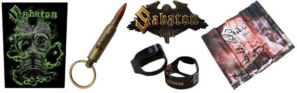 New Accessories at the Sabaton Store