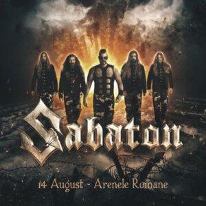 Sabaton live at Arene Romale, August 14 2020