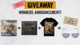 Winners Announcement : The Great War 1 year anniversary Giveaway