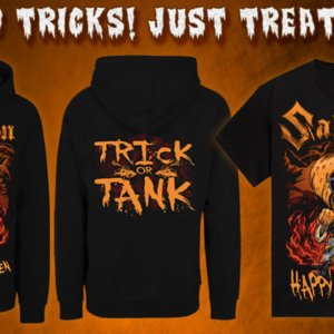 Halloween Merchandise at the Sabaton Store!