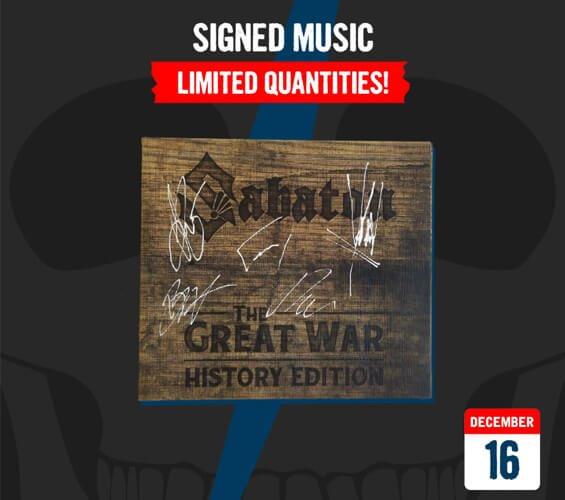 December 16 - Signed CDs and Vinyls