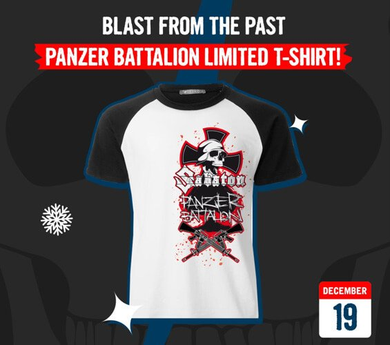December 19 – Blast from the Past – Panzer Battalion Limited T-shirt