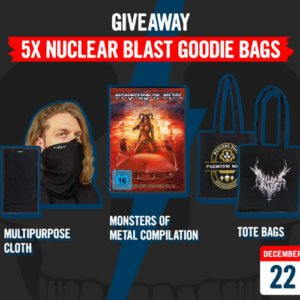 December 22 – Giveaway: Nuclear Blast Goodie Bags