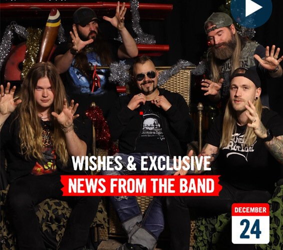 December 24 - Wishes & News from the Band