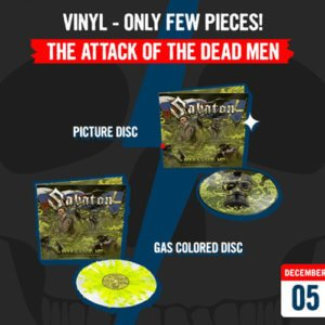 December 5 – The Attack Of The Dead Men Vinyl – Only few pieces