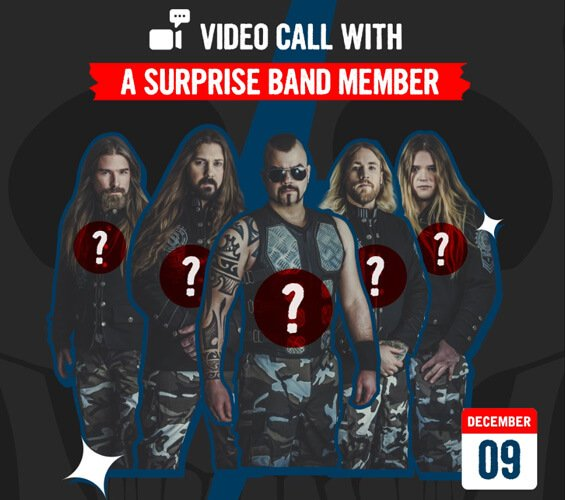 December 9 - Video Call with a Surprise Band Member