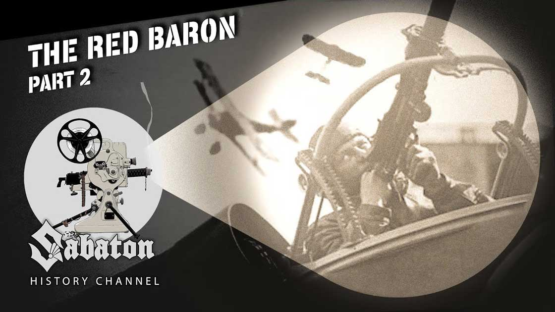 Sabaton History Episode 96 - The Red Baron Pt. 2 – Kings of the Sky