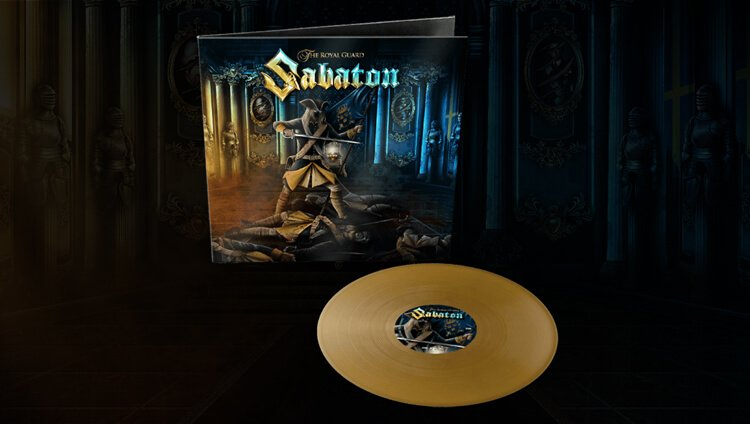 Competition to win a signed Golden Vinyl of The Royal Guard single