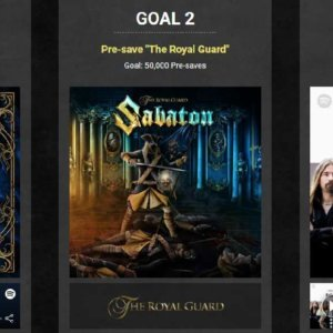 Help us reach these 3 goals on Spotify for special surprises!