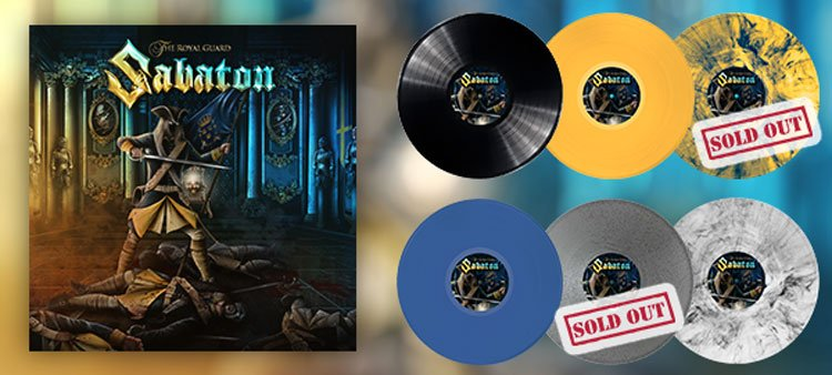 The Royal Guard Vinyl - Some versions sold out