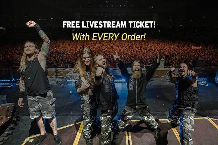 Free Sabaton Livestream Ticket