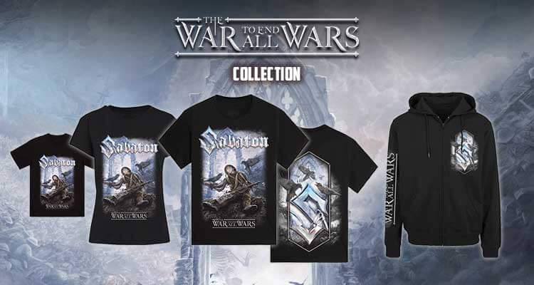 New merchandise THE WAR TO END ALL WARS