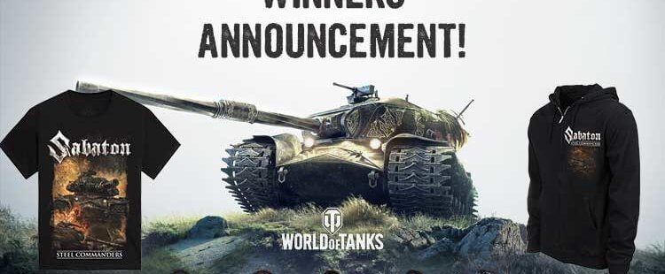 Steel Commanders Pre-save Competition Winners announcement