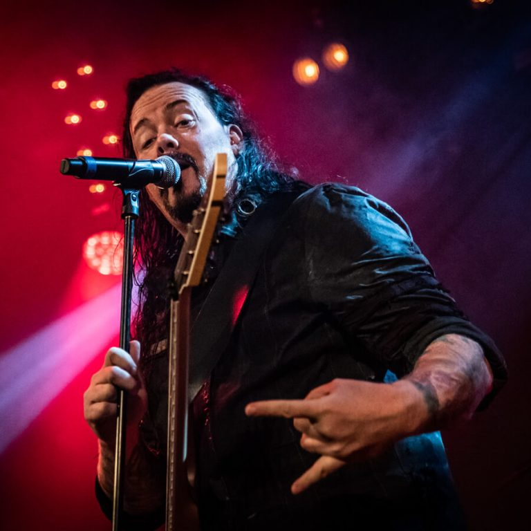 Evergrey's Tom Englund.